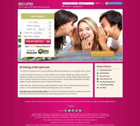 best free bisexual dating sites